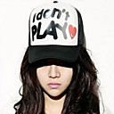 Womens And Mens Truck Cap Baseball Cap Visor Mesh Fashion Hat