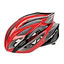 EPS moldeados integralmente FJQXZ  PC Red Cascos Ciclismo (21 tiros)