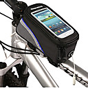 4.2 pulgadas de la bicicleta del bolso delantero con Transparent Screen Phone PVC Touchable móvil