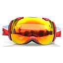 BASTO Snow googgles Marco rojo Naranja Sensor Lente Espejo