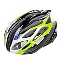 EPS moldeados integralmente FJQXZ  PC Verde Cascos Ciclismo (21 Vents)