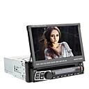 7 pulgadas TFT 1Din pantalla en el tablero desmontable jugador del panel del coche DVD con el GPS, BT, RDS, iPod, la pantalla táctil