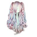 Cosplay sintético de alta calidad peluca 053A