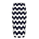cd-contrast-color-check-bodycon-skirtnavy-blue-h0921