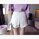 Womens Korean Style Temperament Lace Short