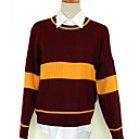 Mens V-neck Harry Potter Quidditch  Gryffindor Long Sleeves Sweater