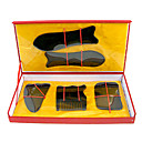 5 x china tradicional Gua Sha Masaje Acupuntura Tool Set Natural Guasha
