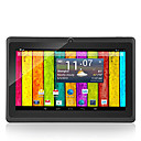 "7 ""Android 4.2 tablet wifi (512mb, 4gb, a23 de doble núcleo, cámara dual)"