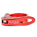 Asiento FJQXZ aleación de aluminio de Red Bicycle abrazadera del poste