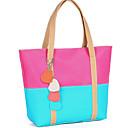 Dulce Contraste estilo coreano de la Mujer Erlen color Splicng Corazón Tote / One Shoulder Bag (Sreen del color)