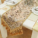 European Style Gold Floral Table Runner