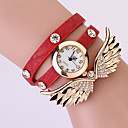 Koshi 2014 Womens Angel Wing 3 Round Diamonade Watch (Red)