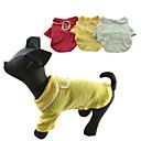 100% algodón de Cutie Gatos verano Polka Dot camisa de los perros