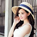 Exported Raffia Straw Outdoor /Casual/ Beach Hats With Small Volumes Eaves