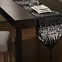 "12 ""x80"" lentejuelas modernas adornadas camino de mesa"