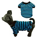 Classic Stripe Style Casual Cats Dogs Shirt