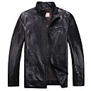 Humiture Mens Genuine Leather Jacket