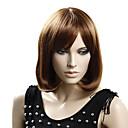 100% Kanekalon japonés sintético corta peluca rizada (marrón claro)