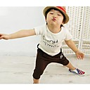 Boys Fashion T-ShirtsShorts Sets Lovely Smile Face Summer Two Pieces  Sets Clothing Set