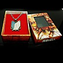Attack on Titan Survey Corps Wings of Freedom  Necklace Cosplay Accessory