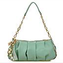 Casual cadena colgante de perlas de lentejuelas de la mujer Erlen bolsa de asas (verde)