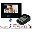 SY811FAW11  2.4GHz motion detection 7TFT-LCD Wireless recordable Video Door Phone 2G SD card