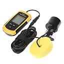 100m de alarma del sensor del sonar Buscador de los pescados Fishfinder Portable haz del transductor
