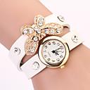 Koshi 2014 Bow Diamonade 2 reloj redondo de la Mujer (Blanco)