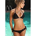 Womens Sexy Black Halter Style Fashion Bikini