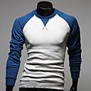 Contraste Bocina Junta HiEnd hombres de color de la camiseta