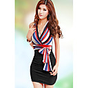 Womens New Sexy Off Shoulder Strap Bodycon Dress