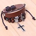 Cuentas Qinuo cruz de la manera del ganchillo pulsera (pantalla a color)