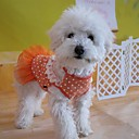 Adorable Chiffon Dots Pattern Skirt for Pets Dogs (Assorted Colors, Sizes)