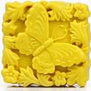 Mariposa Jabón Animal Molde hecho a mano de silicona Forma Moldes para jabón de arcilla Sal Talla Mould