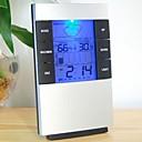 """2.7 """"LCD luminoso pronóstico del tiempo Termómetro  Higrómetro w / Reloj"""