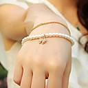 Arco de la manera del diamante de la pulsera de las mujeres Ovish'S