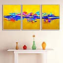 Enmarcado Abstract Canvas Print Juego de 3