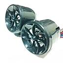 """2.5 """"Motorcycle Waterproof MP3 Player Radio AM / FM / amplificador de energía / TF Slot  AUX  Mini USB de entrada"""