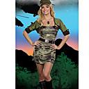 Enfriar Uniforme de camuflaje Chica Oficial Militar Poliéster