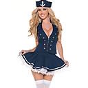 Novia azul de la muchacha de poliéster de América Marinero Uniforme