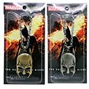 Batman Caballero Máscara colgante, collar de películas cosplay accesorios
