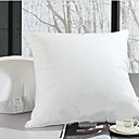 "18 "" 18"" Cubierta de algodón Classic Pillow Insertar"