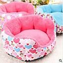 Moda para mascotas y precioso en forma de corazón del sofá nido (varios colores, tamaños)