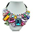 Collar Collar Kushang Weave Gemstone Retro