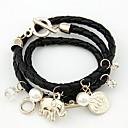 Kushang perla dulce pulsera de la armadura (Negro)