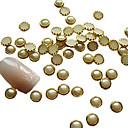 4mm uñas Perla del huevo Tarta Diseño Art Decoraciones