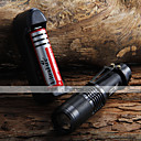 1600lm Zoomable del CREE XM-L T6 LED Flashlight  Holster  1X 18650