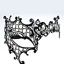Cyclops Estilo del hueco del metal de lujo de la máscara de carnaval con diamantes de imitación