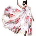 Correa cordón de la colmena de la gasa Big Swing elegante de la luna Mujeres Domingo