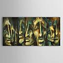 La cara de la pintura al óleo pintada a mano de personas Hombre con el marco de estirado
